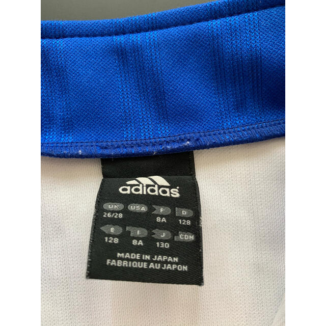 adidas(アディダス)の新品同様 adidas 3本ラインジャージ 激レア サッカー男の子130 スポーツ/アウトドアのサッカー/フットサル(ウェア)の商品写真