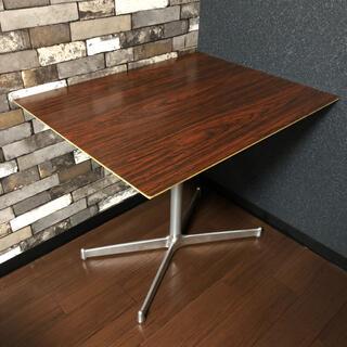 カリモクカグ(カリモク家具)のD&EPARTMENT PROJECT カフェテーブル ブラウン(ダイニングテーブル)