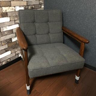 カリモクカグ(カリモク家具)のカリモク60 Kチェア 1シーター ミストグレー 貴重品 SOLD OUT(ダイニングチェア)