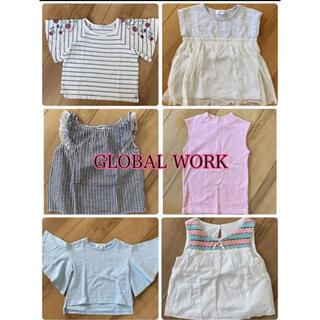 グローバルワーク(GLOBAL WORK)のグローバルワーク子ども服まとめ売り★7枚セット(Tシャツ/カットソー)