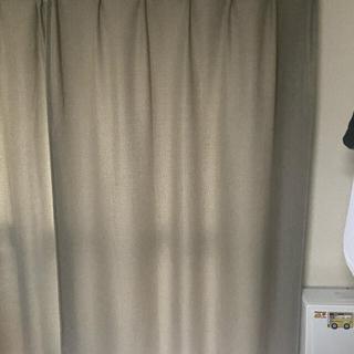 ムジルシリョウヒン(MUJI (無印良品))の無印良品カーテン レースカーテン付(カーテン)