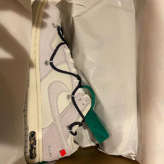OFF-WHITE - Nike Off-White Dunk Low The50 Lot20