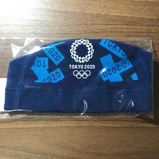 アシックス(asics)の東京オリンピックエンブレム 水泳 競泳 キャップ(トレーニング用品)