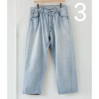 COMOLI - 新品■21AW COMOLI デニム 5P パンツ 3ブリーチ