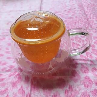 LUPICIA - ルピシア 茶こしマグ モンポット オレンジ