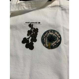 ミナペルホネン(mina perhonen)のミナペルホネン サンキューバッジ&バッグ1(エコバッグ)