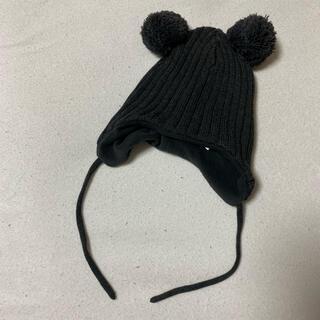 エイチアンドエム(H&M)のH&M くまさん ニット帽(帽子)
