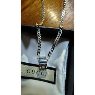 Gucci - GUCCIシルバーネックレス