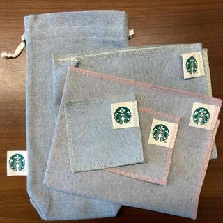 スターバックスコーヒー(Starbucks Coffee)のスターバックス アップサイクルコットン コースター ランチョンマット(テーブル用品)