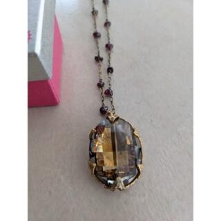 カオル(KAORU)のAORU天然石ネックレス一点物(ネックレス)