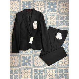 アオキ(AOKI)のAOKI アオキ レディース スーツ ジャケット パンツ セットアップ チェック(スーツ)