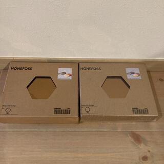 イケア(IKEA)のIKEA 鏡 HONEFOSS イケア 2個セット(壁掛けミラー)