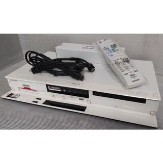 SHARP - シャープ BD-W570SW ホワイト! 純正新品リモコン付 Wチューナー534