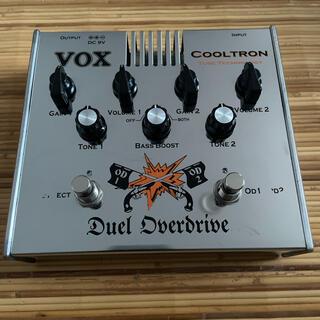 ヴォックス(VOX)のVOX CoolTron Duel Overdrive(エフェクター)