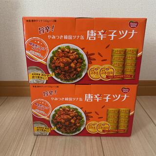 コストコ(コストコ)のやみつき韓国ツナ缶 唐辛子ツナ 24缶(缶詰/瓶詰)