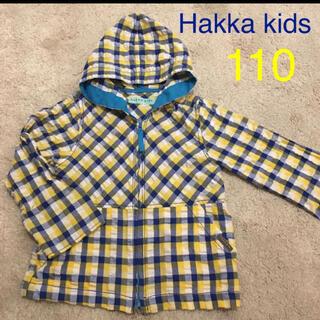 ハッカキッズ(hakka kids)の美品!ハッカキッズ アウタートップス 110 Hakka kids(ジャケット/上着)