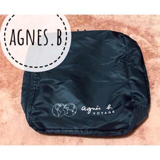 agnes b. - agnes b. VOYAGE【美品】ロゴ プリント ナイロン ポーチ バッグ