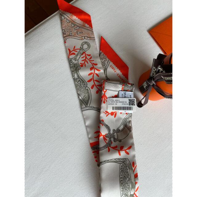 Hermes(エルメス)の未使用) タグ付き エルメス ツイリー ハンドメイドのファッション小物(スカーフ)の商品写真