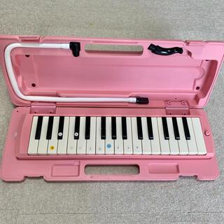 ヤマハ(ヤマハ)のヤマハ 鍵盤ハーモニカ ピアニカ YAMAHA P-32DP ピンク(ハーモニカ/ブルースハープ)