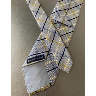 スーツカンパニー(THE SUIT COMPANY)のsuitscompany スーツカンパニー ネクタイ ブルー チェック シルク(ネクタイ)