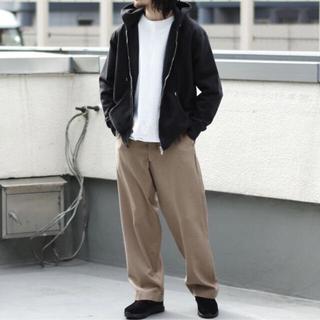 コモリ(COMOLI)のblurhms ROOTSTOCK soft&hard sweat zip(パーカー)