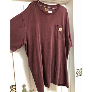 カーハート(carhartt)のCarhartt 古着 半袖 ロングTシャツ タグ付き 新品(Tシャツ(半袖/袖なし))