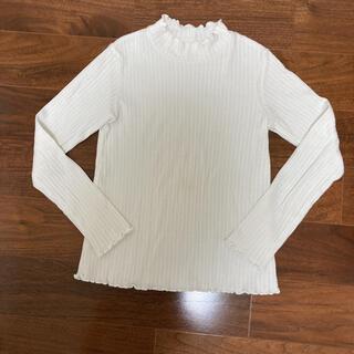 GU - GU白長袖カットソー130