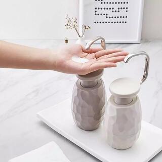 韓国インテリア雑貨 パームディスペンサー ソープ 洗剤 シャンプー ボトル 雑貨(インテリア雑貨)