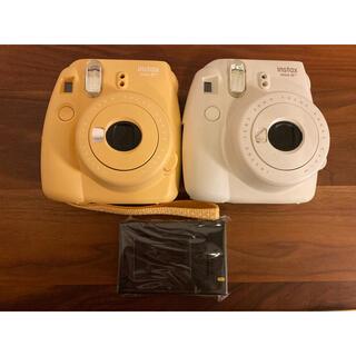 富士フイルム - FUJIFILM instax mini8+ チェキ カメラ 2台