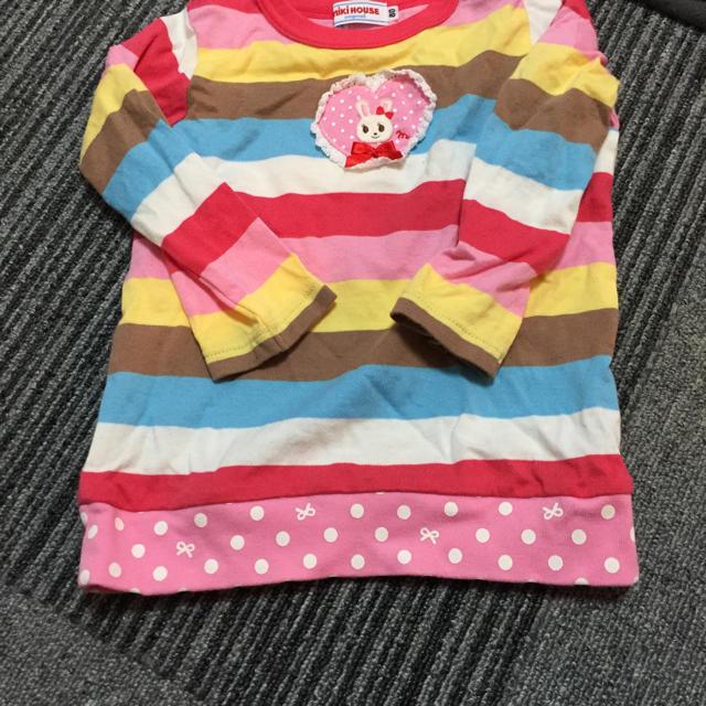 mikihouse(ミキハウス)のさる様専用 キッズ/ベビー/マタニティのベビー服(~85cm)(シャツ/カットソー)の商品写真