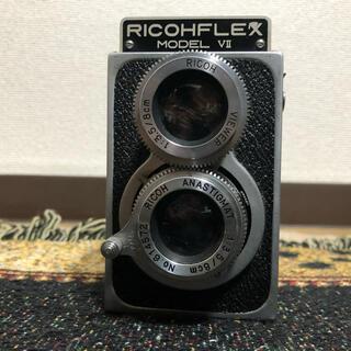 リコー(RICOH)のRICOHFLEX MODEL VII 8cm F3.5 (フィルムカメラ)