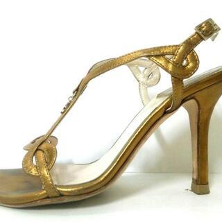 クリスチャンディオール(Christian Dior)のクリスチャンディオール サンダル 34 1/2 -(サンダル)