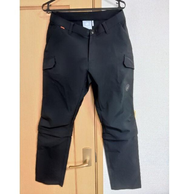 Mammut(マムート)のマムート トランスポーター カーゴ 3/4 パンツ AF MEN メンズのパンツ(ワークパンツ/カーゴパンツ)の商品写真