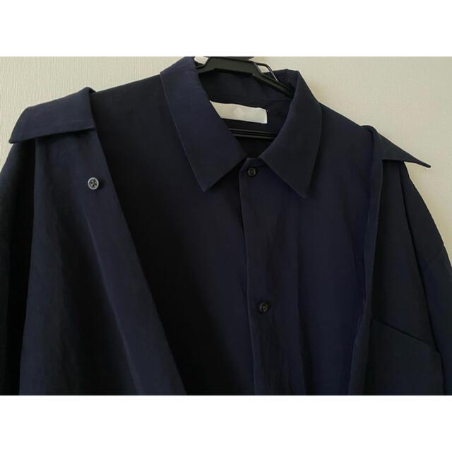 LAD MUSICIAN(ラッドミュージシャン)のETHOSENS レイヤードシャツ メンズのトップス(シャツ)の商品写真