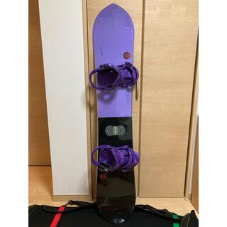 K2 - K2 HAPPY HOUR ハッピーアワー 154cm FLUX カバー付き