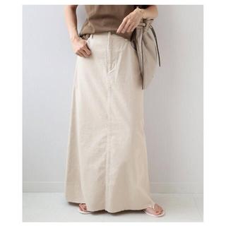 フレームワーク(FRAMeWORK)の2021AW コールスカート グレーB 38(ロングスカート)