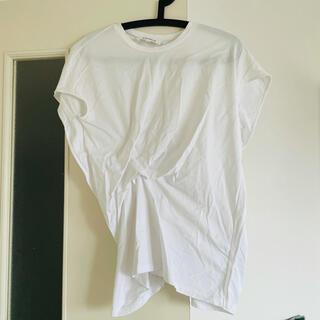 ENFOLD - ENFOLD デザイン Tシャツ 白 38