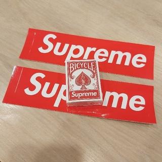 シュプリーム(Supreme)の🃏新品🃏Supreme セット トランプ♠️ステッカー *2(トランプ/UNO)