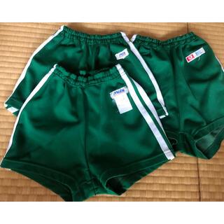 アシックス(asics)の緑 ジャージ  短パン 140cm  3枚セット 小学校(その他)