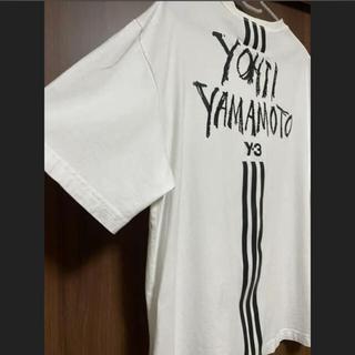 ワイスリー(Y-3)の【値下げ!】Y-3  adidas  Yohji Yamamoto Tシャツ(Tシャツ/カットソー(半袖/袖なし))