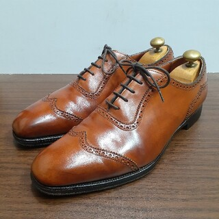 EDWARD GREEN - [最高級] 希少デザイン エドワードグリーン 888ラスト サウスウォルド 革靴