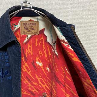 東洋エンタープライズ - 一点物 ジョンセバーソン 東洋エンタープライズ コーデュロイ 刺繍 ジャケット
