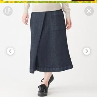 ムジルシリョウヒン(MUJI (無印良品))の無印良品 MUJI  デニムスカート(ロングスカート)