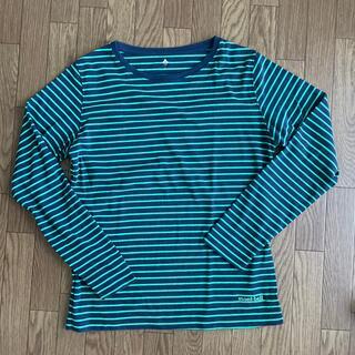 モンベル(mont bell)のモンベル ボーダーロングスリーブ 長袖 L(Tシャツ(長袖/七分))
