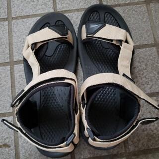 しまむら - しまむら 靴 サンダル ベージュ
