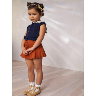 キャラメルベビー&チャイルド(Caramel baby&child )の新品 misha and puff スカート 4-5y puprika 21ss(スカート)