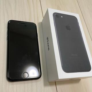アップル(Apple)のiPhone7 ブラック 128GB(その他)