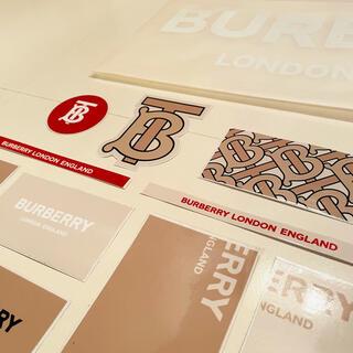 バーバリー(BURBERRY)のバーバリー 公式 記念シール ステッカー(その他)