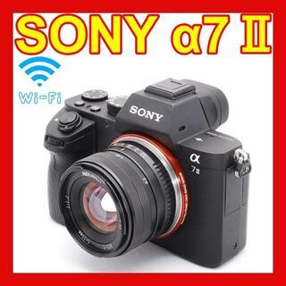 SONY - ❤初心者大人気❤Wi-Fi搭載❤SONY α7Ⅱ❤初めてのフルサイズに❤