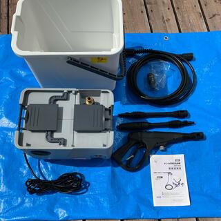 アイリスオーヤマ - タンク式高圧洗浄機 アイリス SBT412